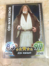 STAR WARS Force Awakens - Force Attax Trading Card #165 Obi-Wan Kenobi
