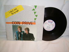 """12"""" - Coin Prive I don´t care & Fly by Night - Italy 1985 # cleaned"""