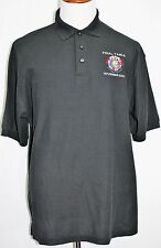 Embroidered TEXAS HOLDEM POKER TOURS FINAL TABLE NOVEMBER 2010 Polo Black XL