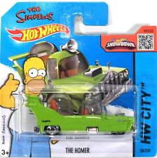 Hot Wheels The Simpsons THE HOMER Simpson Car. Movie TV Series - BLISTER 1:64