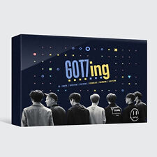 GOT7-[GOT7ING DVD] 3 DISC(CD)+POSTER+84p Photo Book+7p Post Card K-POP Sealed