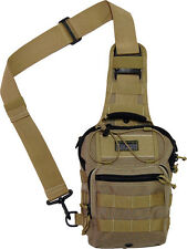 "Maxpedition MX419K Remora Gearslinger Khaki Overall Size 7.5"" x 10"" x 5"""