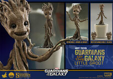 HOT TOYS MARVEL GOTG GUARDIANS OF THE GALAXY LITTLE GROOT 1:4 FIGURE ~Brand New~
