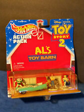 Hot Wheels Action Pack Disney Pixar Toy Story 2 Al's Toy Barn, 1999