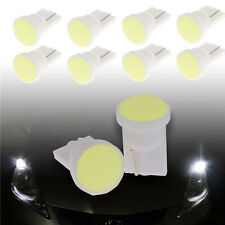 10x 12V Car Super Bright White 1 LED COB SMD T10 W5W Wedge Side Light Bulb Lamp