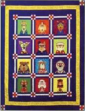DAZZLING DOGS QUILTING PATTERN, Fusible Applique From Amy Bradley Designs NEW