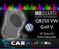 MB Quart QB-250 Golf V Active Box 25cm Custom Scatola Del Subwoofer QB250