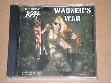 THE GREAT KAT - WAGNER'S WAR - CD SIGILLATO (SEALED)