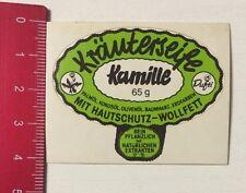 Aufkleber/Sticker: Kräuterseife Kamille - Mit Hautschutz-Wollfett (130416160)