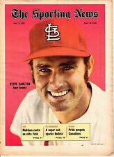 Sporting News 5/8/1971, Baseball magazine, Steve Carlton, St. Louis Cardinals