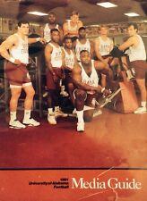 "1991 Alabama Football Media Guide 8.5"" X 11"" NCAA"