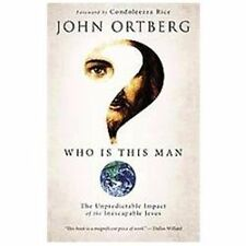 Who Is This Man? The Unpredictable Impact Jesus by John Ortberg Hardcover DJ