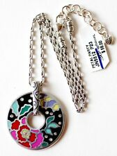"Brighton ""Petal Party"" Bold & Colorful Enameled Necklace - NWT- $56"
