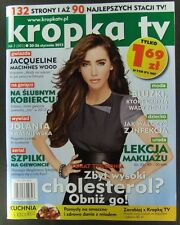 JACQUELINE MACINNES WOOD mag.FRONT cover,Bold and the Beautiful, Paris Hilton