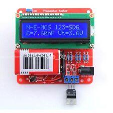 DIY KITS Transistor Tester LCR Diode Capacitance ESR meter PWM Signal Generator