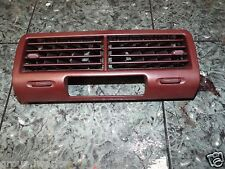 88-91 OEM Honda Civic EF SH4 sedan center dash air ac outlet vent bezel burgundy