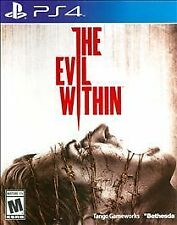 PLAYSTATION 4 EVIL WITHIN BRAND NEW VIDEO GAME