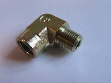 """Parker Adapters Male Female Thread 1/8"""" 1/8-27 Elbow 1/8CDMS #21A115"""