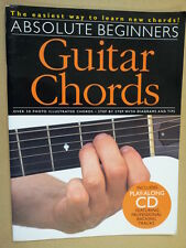 guitar ABSOLUTE BEGINNERS GUITAR CHORDS + CD