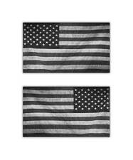 """Subdued American Flag Sticker - Military Tactical USA Helmet Decal - 4"""" decals"""