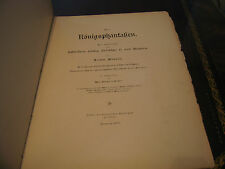 1888 Die Konigs Phantafien The King's Fantasy King Ludwig II of Bayern Bavaria