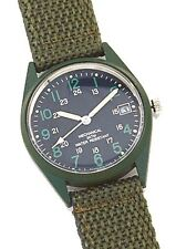 G.I. Type Vietnam Era Wind UP Watch - Olive Drab