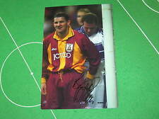 Dean Windass Signed Bradford City Photo - The Infamous Paul Gascoigne 'Incident'
