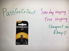 NEW A27 Duracell 12V Alkaline Batteries (A27, MN27, GP27A, 8LR732, 27A, L828)