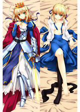 NEW Japan Anime Saber Fate/stay night dakimakura Hugging Body Pillow case Cover