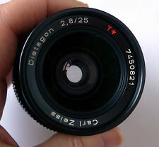 Contax Zeiss 25mm f2.8 Distagon lens MMJ  C/Y No Reserve