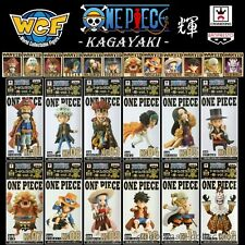 BANPRESTO ONE PIECE WCF World Collectable Figure KAGAYAKI vol.1&2 Complete set