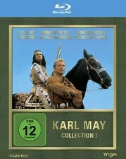 KARL MAY Collection 1 LEX BARKER Pierre Brice SILBERSEE Apanatschi BLU-RAY Box