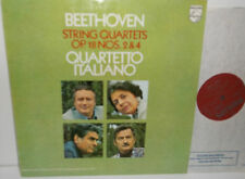 6500 646 Beethoven String Quartets Nos. 2 & 4 Quartetto Italiano