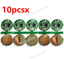 New 10PCS 1S Li-ion Lithium 3.7V 18650 Battery Input Ouput Protection Board PCB