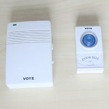 VOYE V005A Home Security Received 30-50m Intelligent Wireless Doorbell 38 Music