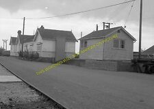 Dunnington Railway Station Photo. York Layerthorpe - Elvington. Derwent Valley