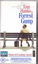 Pal Vhs Video Tape : Forrest Gump , Tom Hanks , Robin Wright ,Sally Field