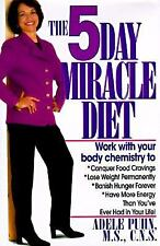 5-Day Miracle Diet, Puhn, Adele, Good Book