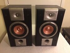 Set (2) JBL Studio Series S26 Bookshelf Home Audio Speakers 8 Ohms