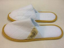 New Emirates Palace Abu Dhabi Slippers White / Gold. Royal Presidential Suite