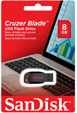 Sandisk Cruzer Blade Pen Drive 8GB USB Flash Drive .