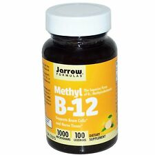 Jarrow Methyl B12-Vitamin B12 Sublingual 1000mcg x 100  Free P&P -last 3 left