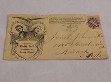 1864 Lincoln/Johnson Campaign Cover Lot 295