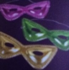 36 Mardi Gras Cat Masks, Birthday,New Years,Halloween Party Favor