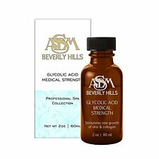 70% Glycolic Acid Medical Grade Collagen 2oz 100% Purity ASDM BEVERLY HILLS