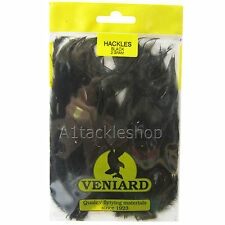 Veniard Large  Saddle Cock Hackles Feathers Trout Fly Tying , Craft and Hats