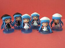 Shinryaku! Ika Musume Squid Girl FIGURE Set of 6 pieces