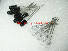 20PCS 5mm 940nm LEDs infrared emitter and IR receiver 10pairs diodes F5