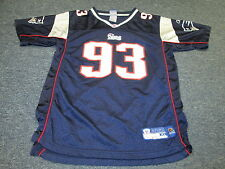 LIGHTLY WORN REEBOK NEW ENGLAND PATRIOTS RICHARD SEYMOUR JERSEY YOUTH SIZE XL