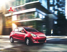 2015 Mitsubishi Mirage 24-page Original Car Sales Brochure Catalog